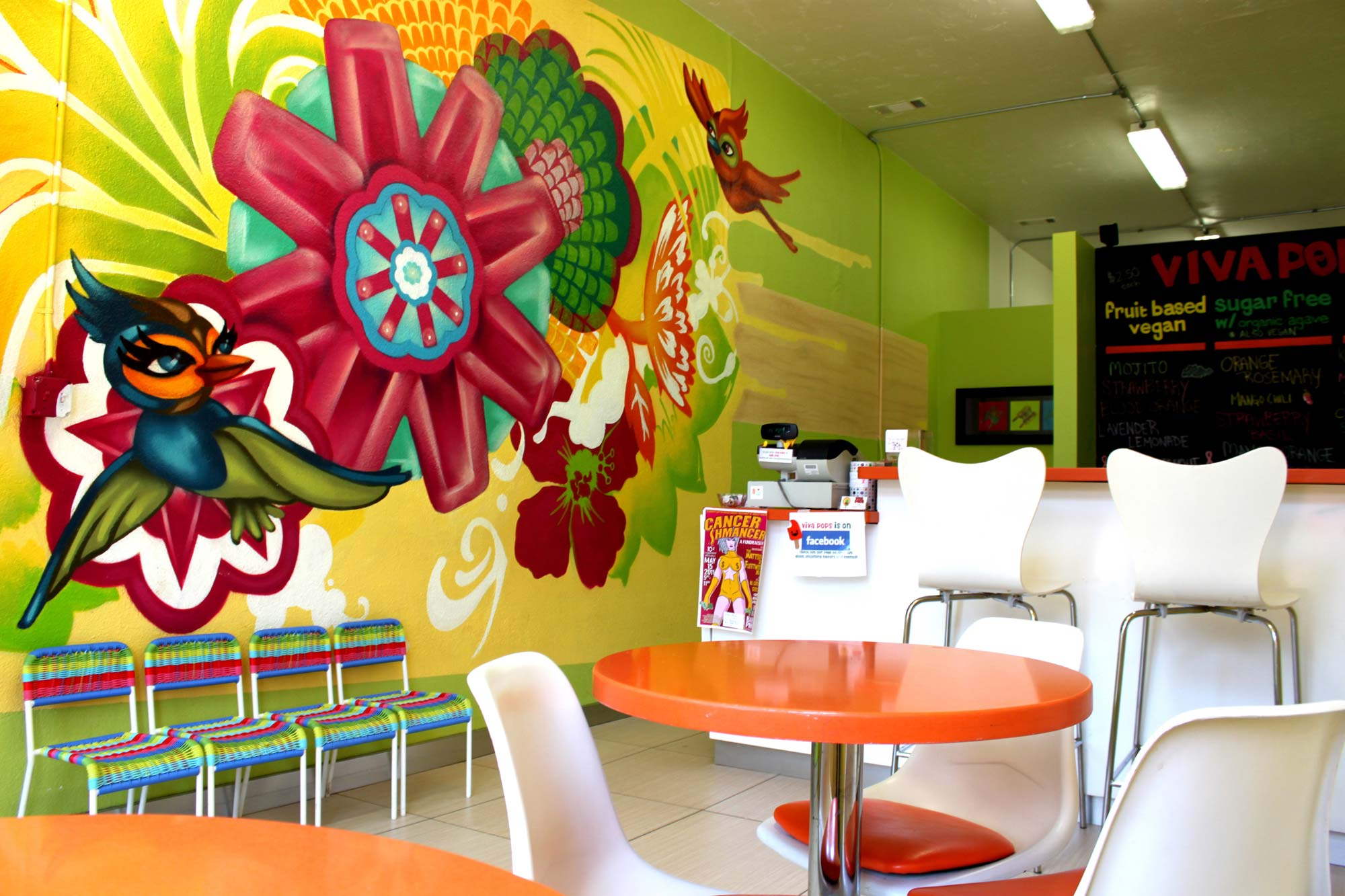 Viva Pops Shop Interior